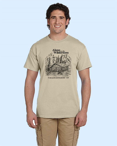 Alone in the Wilderness Tshirt